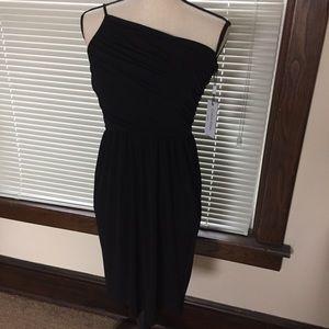Calvin Klein Single Shoulder Party Dress